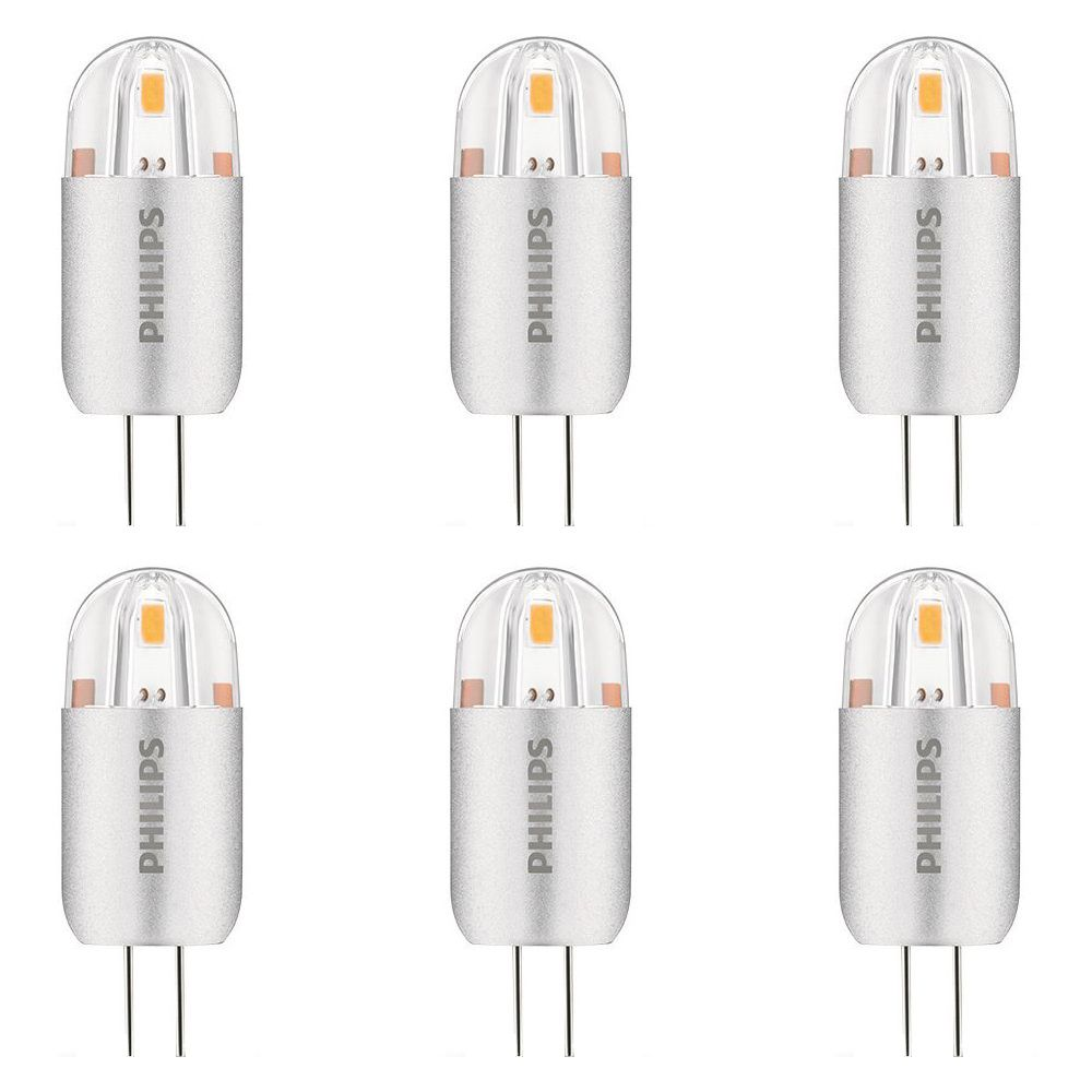 LED 2W 20W G4 Capsule Bright White Non-Dimmable (3000K) - Case Of 6 Bulbs 458521 Canada Discount