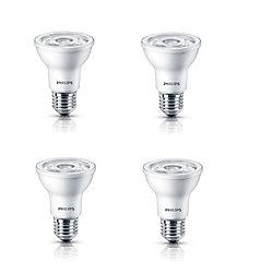 Philips LED 6W = 50W PAR20 Soft White (2700K) - Case Of 4 Bulbs - ENERGY STAR®