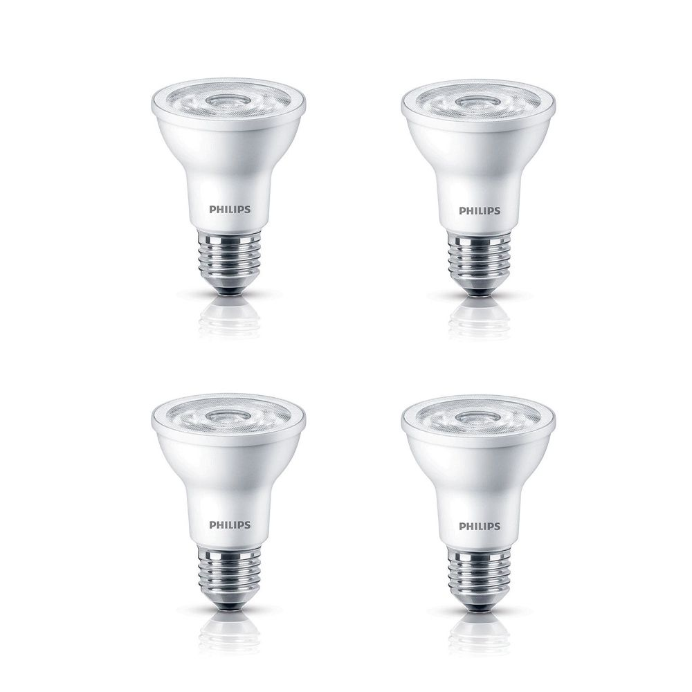 LED 6W 50W PAR20 Daylight (5000K) - Case Of 4 Bulbs 458935 in Canada