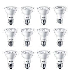 Philips PAR20 DEL à faisceau projecteur d'intérieur 6 W  - Lumière du jour 5 000 K - Cas de 12 Ampoules- ENERGY STAR®