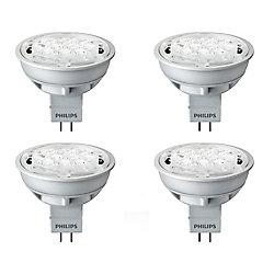 Philips LED 6.5W = 35W MR16 Warm Glow (2700K - 2200K) - Case Of 4 Bulbs - ENERGY STAR®