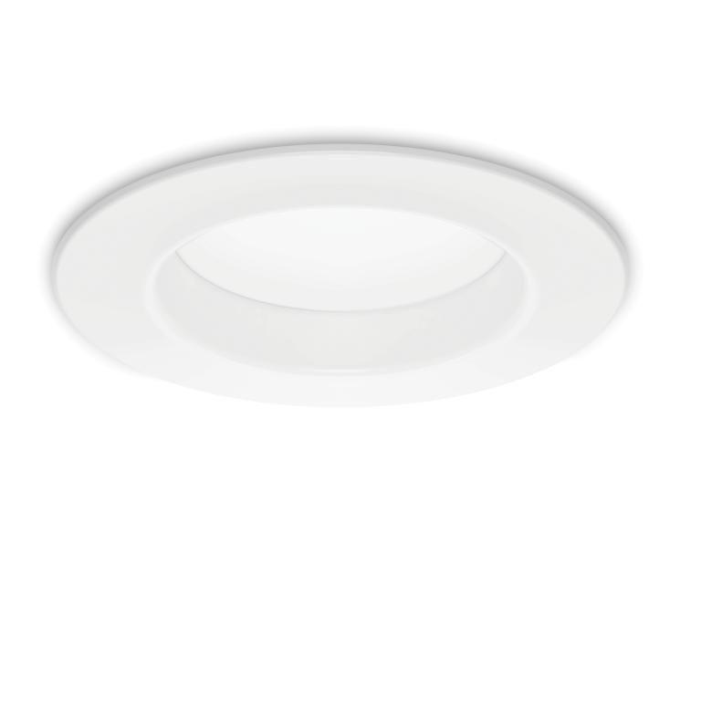 Éclairage direct de conversion DEL 5 po et 6 po 10 W = 65 W Lumière du jour (5 000 K) - Cas de 4 ...