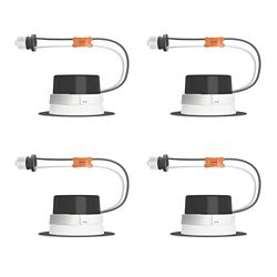 Philips LED 10W = 65W 5/6 Inch.  Retrofit Downlight Soft White (2700K) - Case Of 4 Downlights