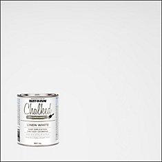 Peinture crayeuse, blanc lin, disponible en 8 couleurs pré-mélangées, 887 mL