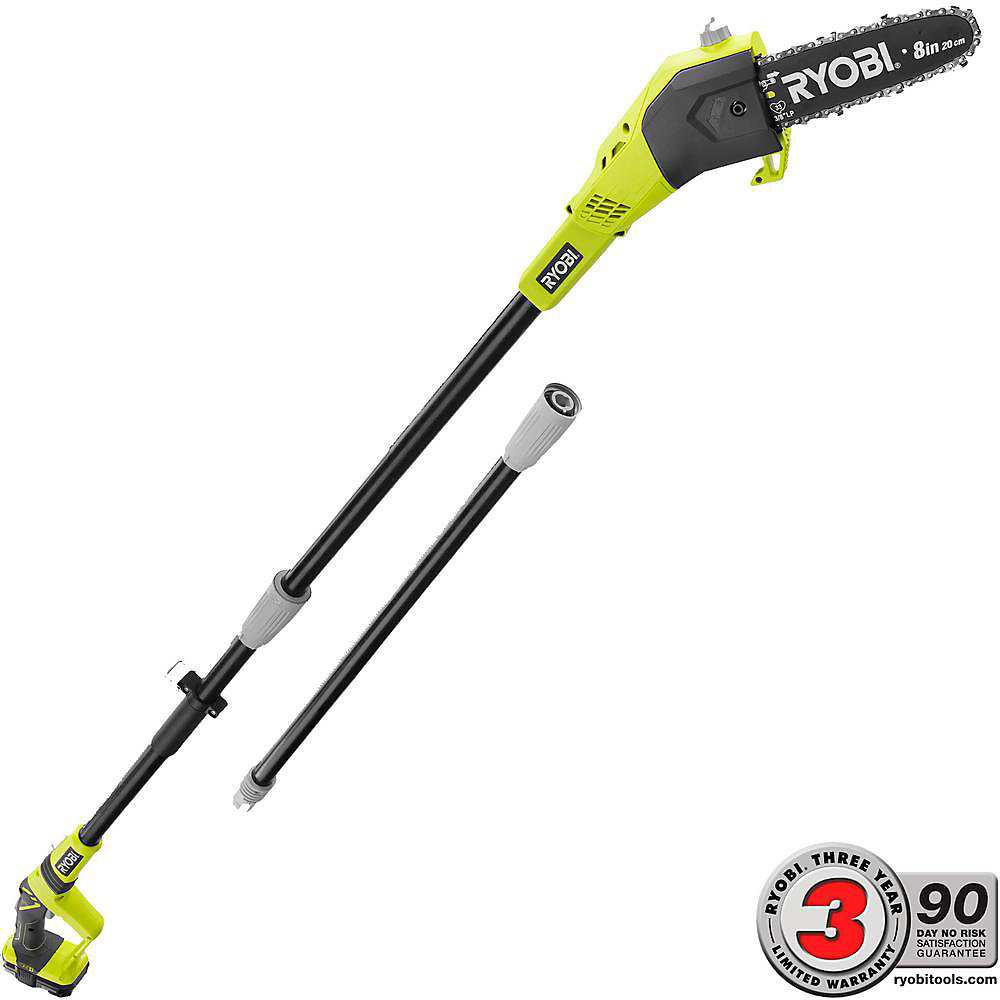 18V ONE+ 8-inch Lithium-Ion Cordless Pole Saw w/ 1.3 Ah Battery and Charger