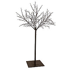 LED Tree 98 inch High With 600xLED And Brown Finish