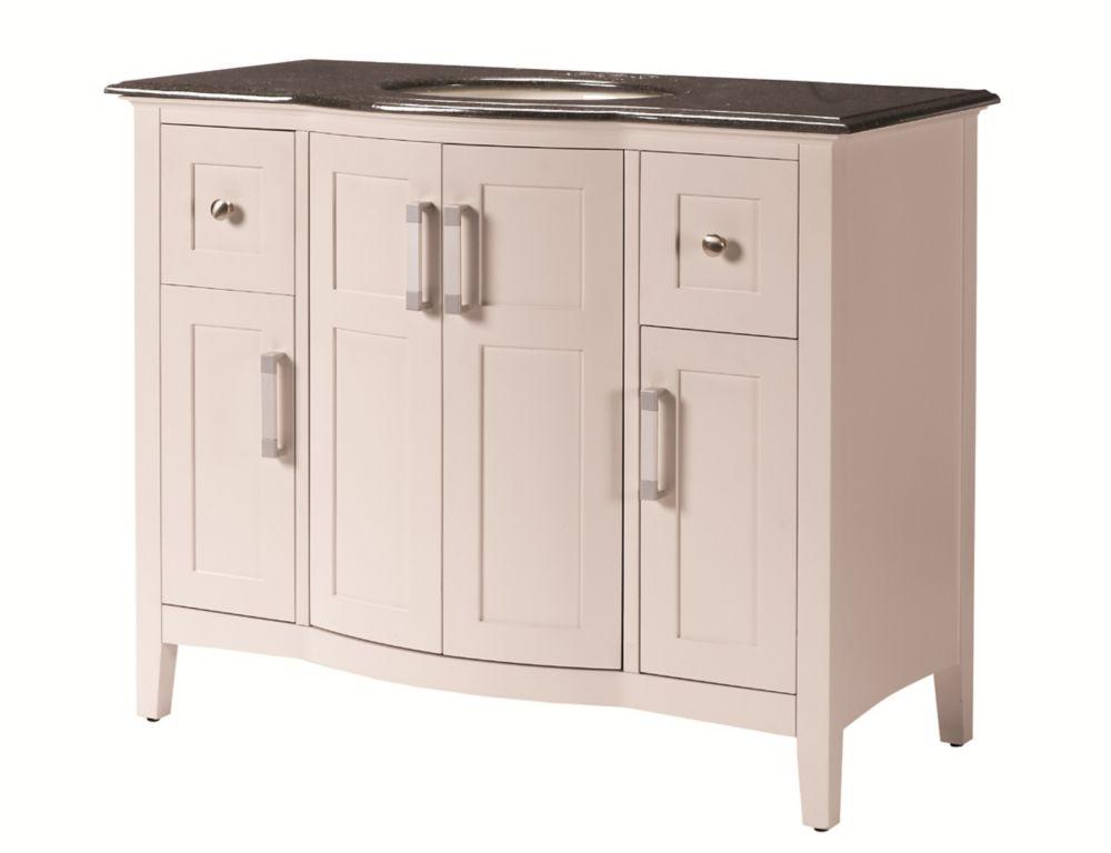 Home Decorators Collection 43-inch W Vanity in Beige Tan