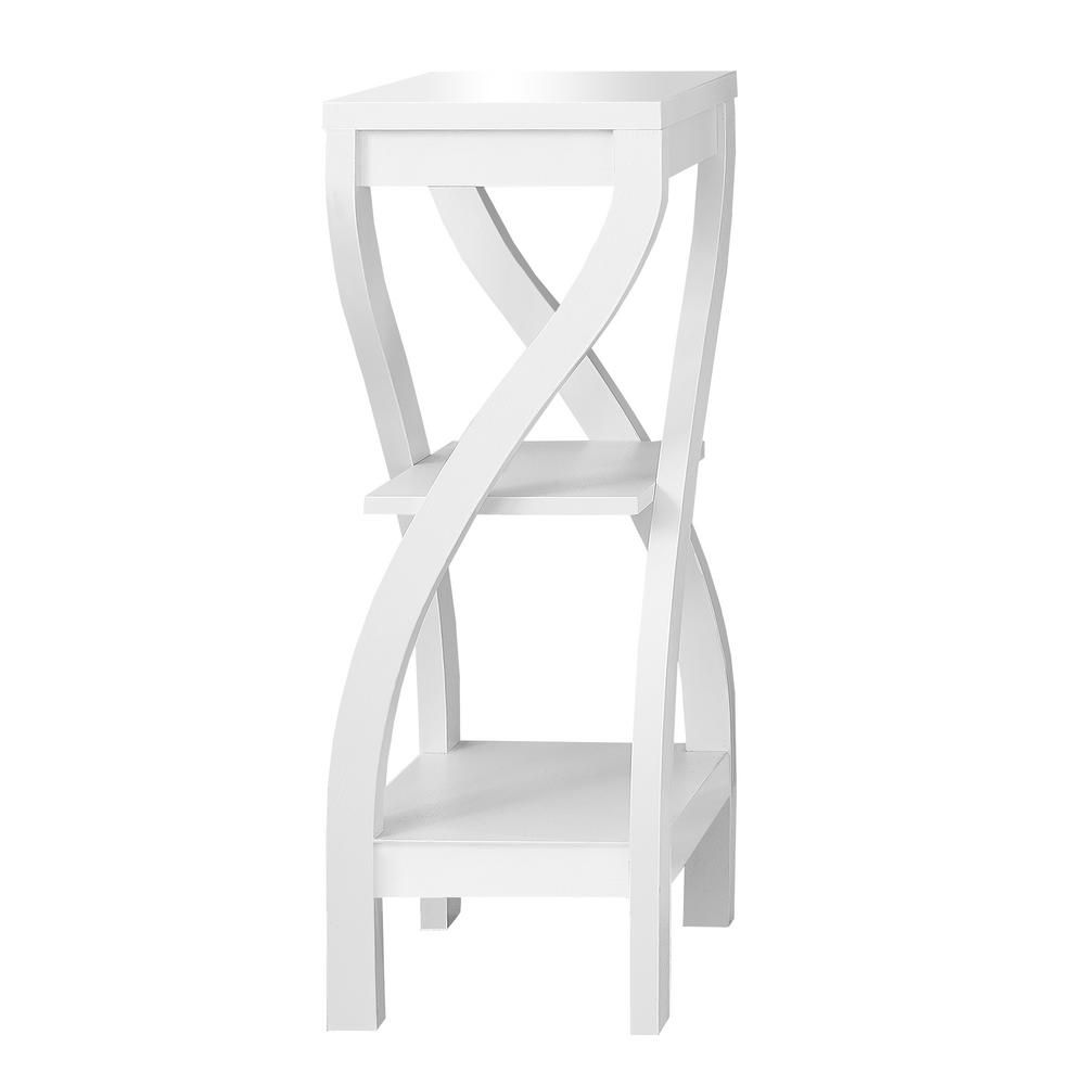 "White 32""H Plant Stand"