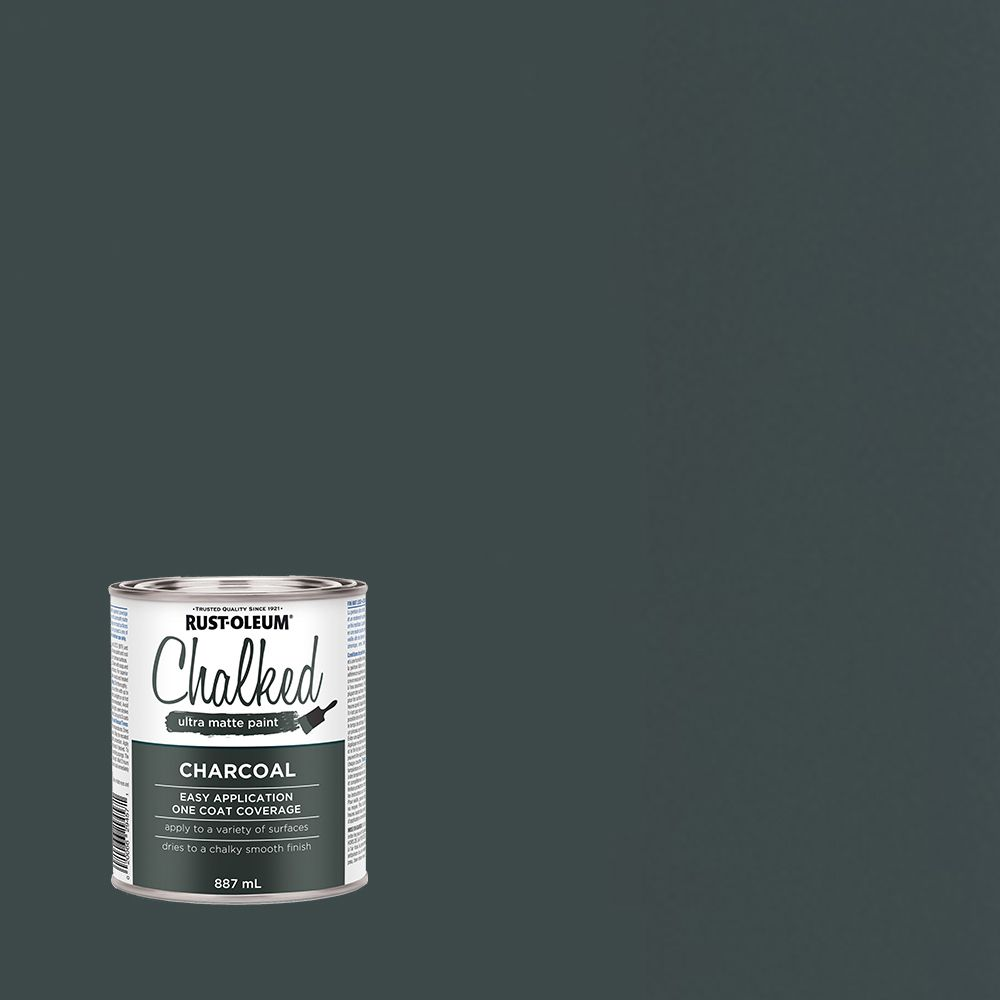 Rust-Oleum Chalk Paint Charcoal