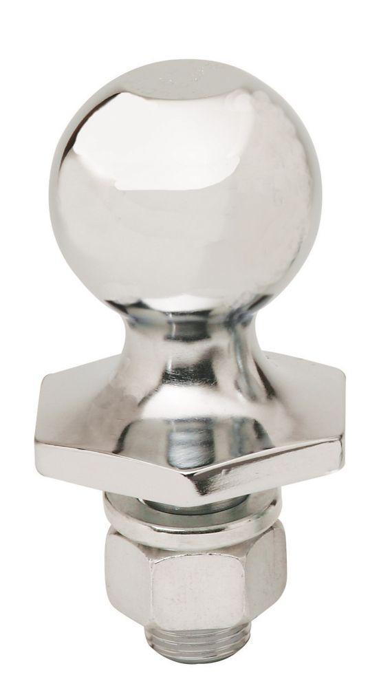 2-inch x 3/4-inch x 1 1/2-inch Chrome Steel InterLock Hitch Ball