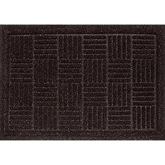 Contour Brown 3 ft. x 4 ft.  Rectangular Door Mat