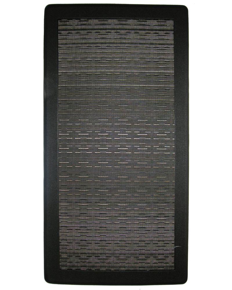Black Ergo Comfort Mat 20 Inches x 39 Inches