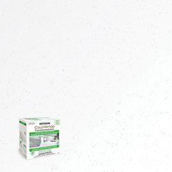 Rust-Oleum Ensemble de transformation de comptoir en mica blanc, 1.42 L (couvre jusqu'à 50 pi2)