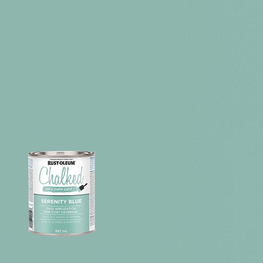 Chalk Paint Serenity Blue