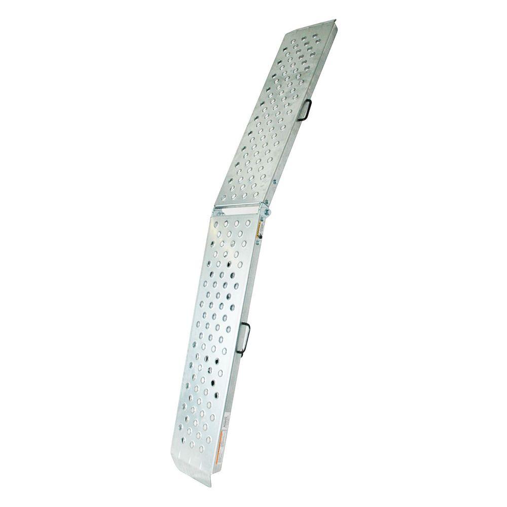 80 Inch x 11 Inch Centre-fold Steel Ramp