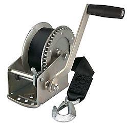 Reese Towpower 1,500 lb Winch w/Strap & Hook