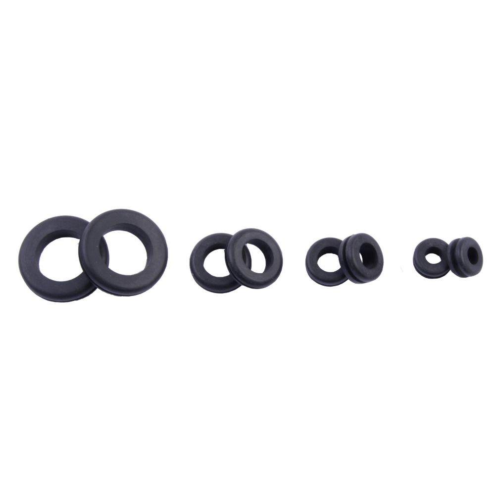 Assorted Grommets, 2 each .25 .375 .50 .75 Inch, 8/Clam