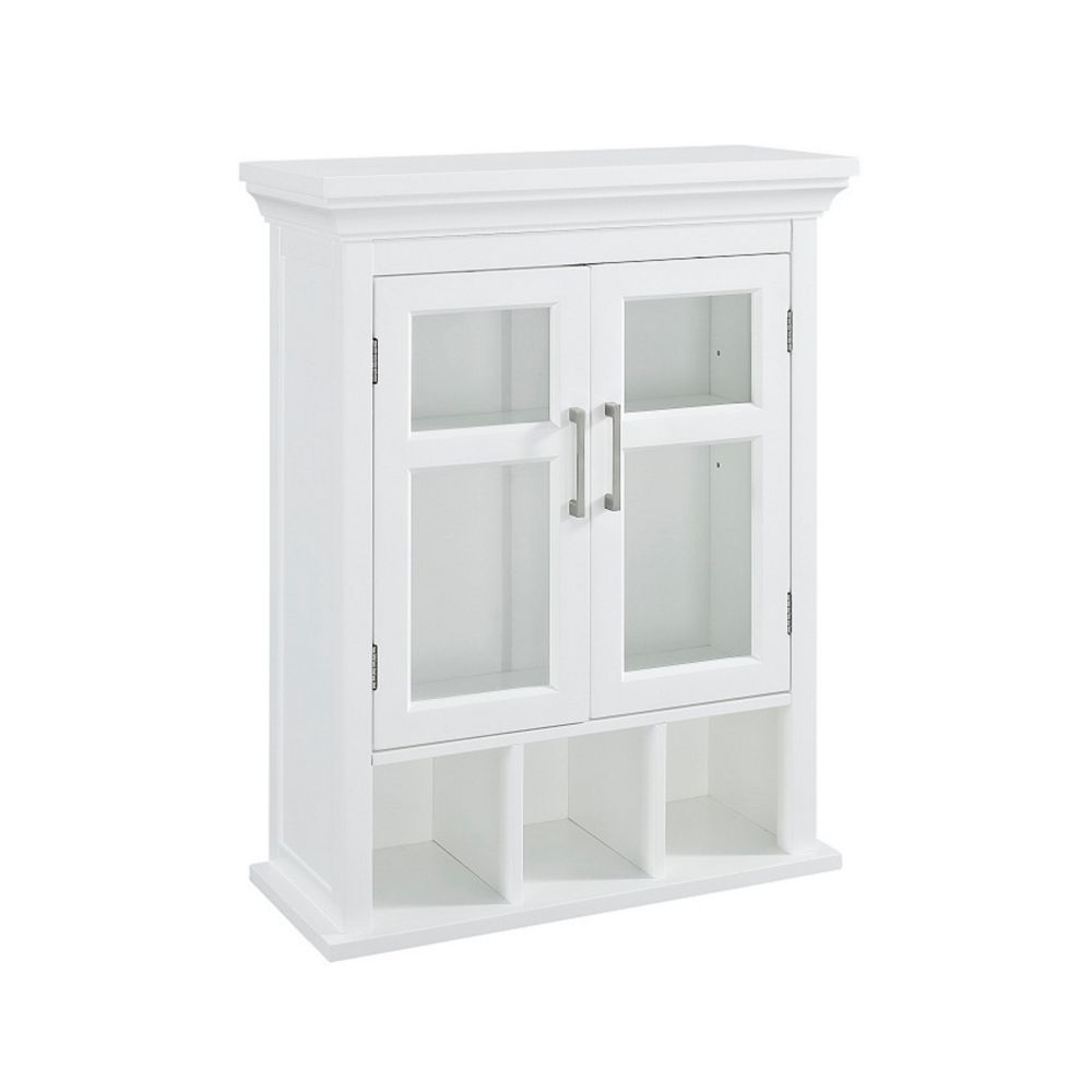 glacier bay 23 inch bath storage wall cabinet the home depot canada