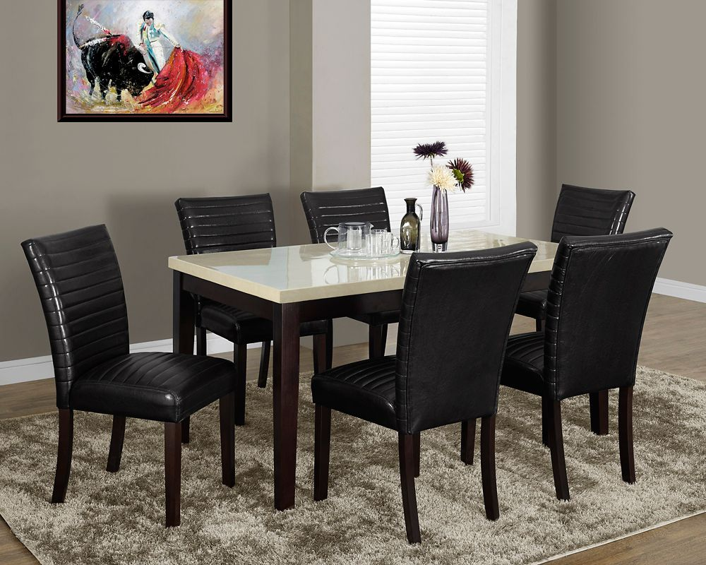 """Dark Brown Leather-Look 38""""H Parson Chair / 2Pcs Per Ctn"""