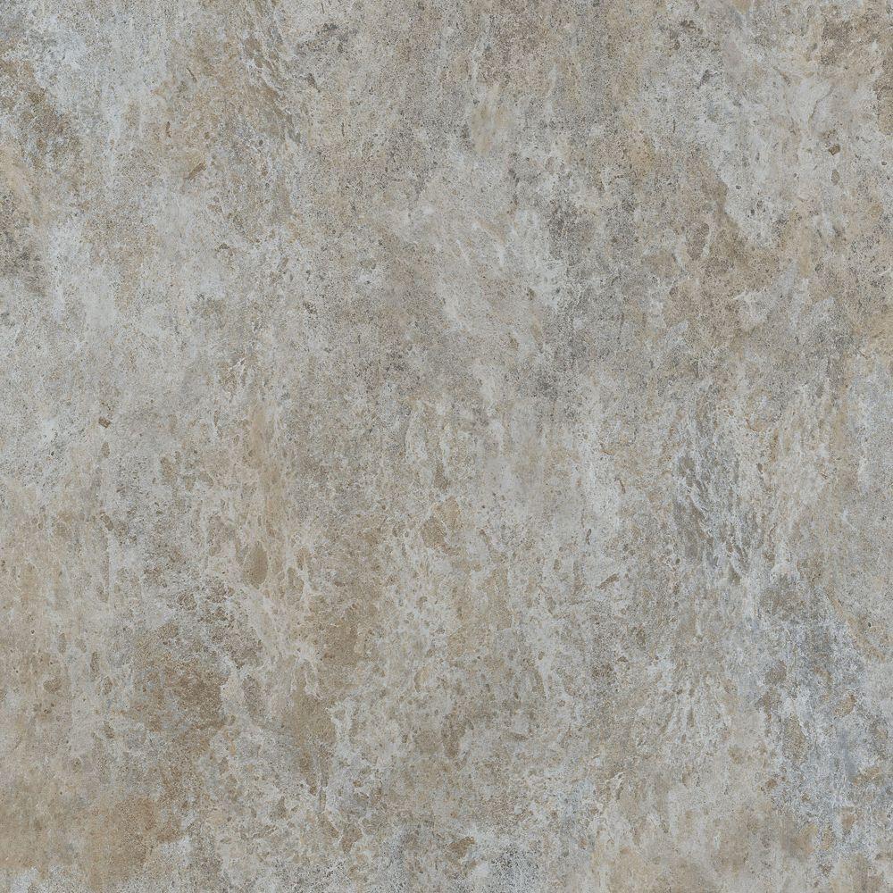 18-inch x 18-inch Luxury Vinyl Tile Flooring in Greige Stone (27 sq. ft./case)