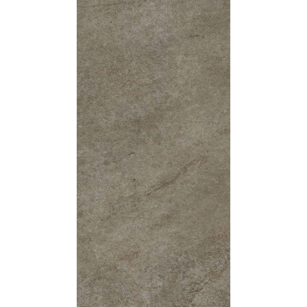 Ceramica 12-inch x 24-inch Vinyl Tile Flooring in Stafford Stone (29 sq. ft./case)