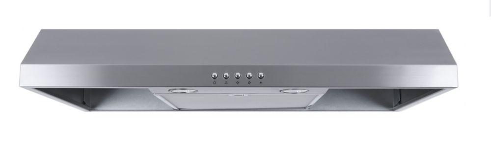 30-inch, 300 CFM Under Cabinet Range Hood in Stainless Steel