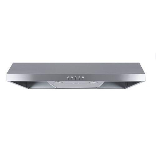Vissani 30-inch, 300 CFM Under Cabinet Range Hood in Stainless Steel