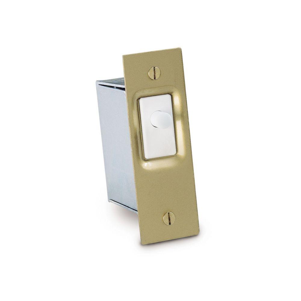 Gardner Bender Door Switch Kit, Brass Mounting Plate, Steel Box