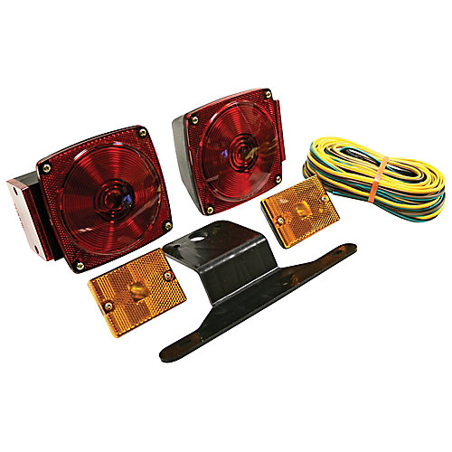 Under 80 inch Wide Trailer Light Kit