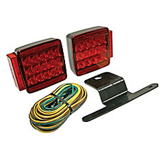 LED Submersible Trailer Light Kit