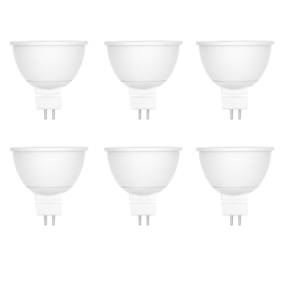 35W Equivalent Bright White (3000K) MR16 Dimmable LED Flood Light Bulb (6-Pack) 50206013006 Canada Discount