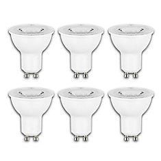 50W Equivalent Daylight (5000K) GU10 Dimmable LED Flood Light Bulb (6-Pack) - ENERGY STAR ®