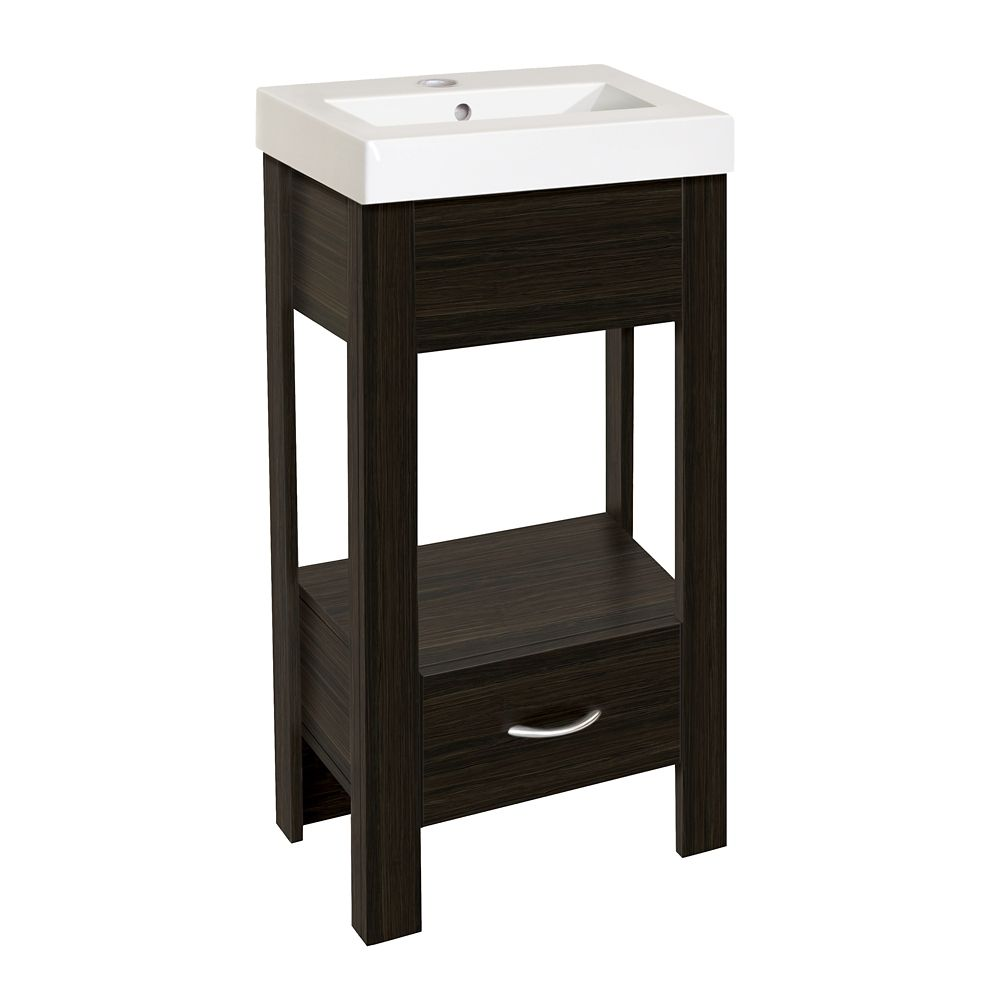 Glacier bay ensemble de meuble lavabo nakina de 44 45 cm 17 1 2 po home d - Ensemble lavabo meuble ...