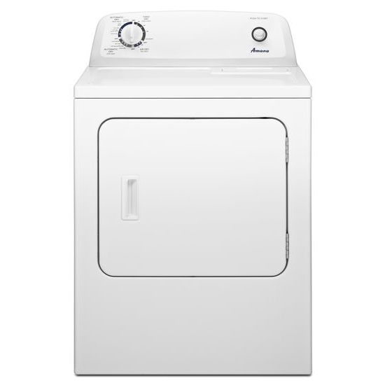 6.5 cu. Feet Top-Load Dryer with Automatic Dryness Control