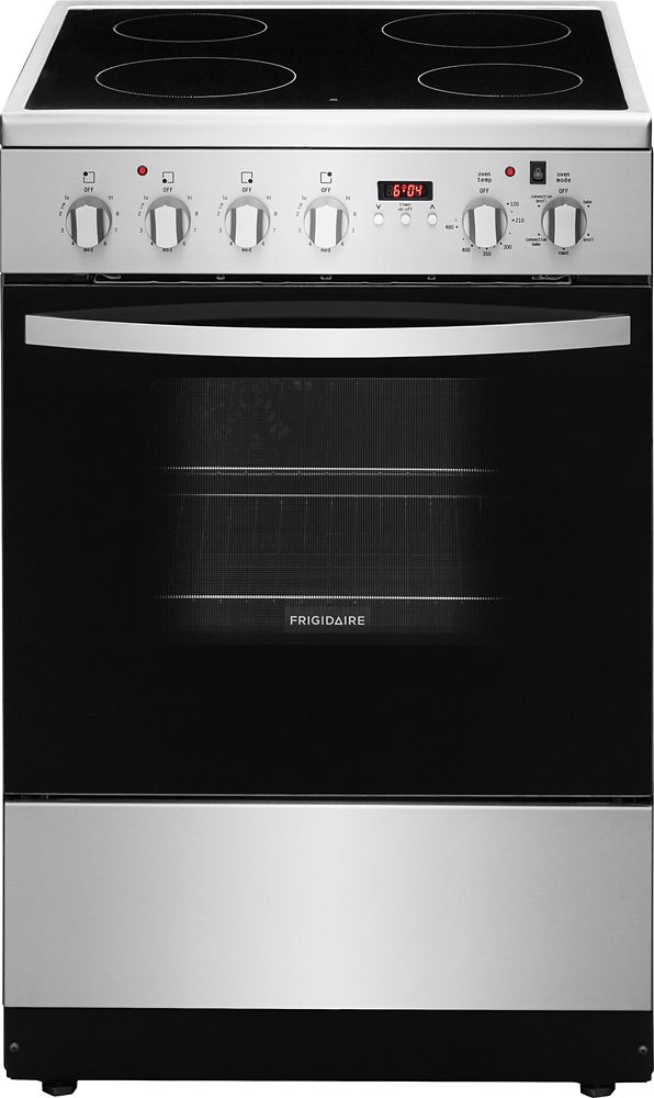 1.9 cu. ft. Free-Standing Electric Range in Stainless Steel