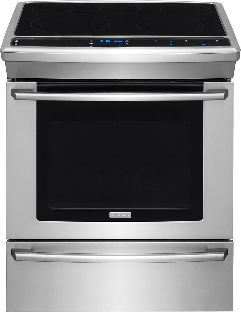4.6 cu. ft. Slide-In Electric Range in Stainless Steel