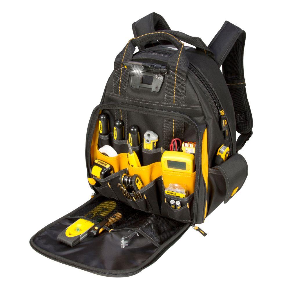 DEWALT Lighted Backpack