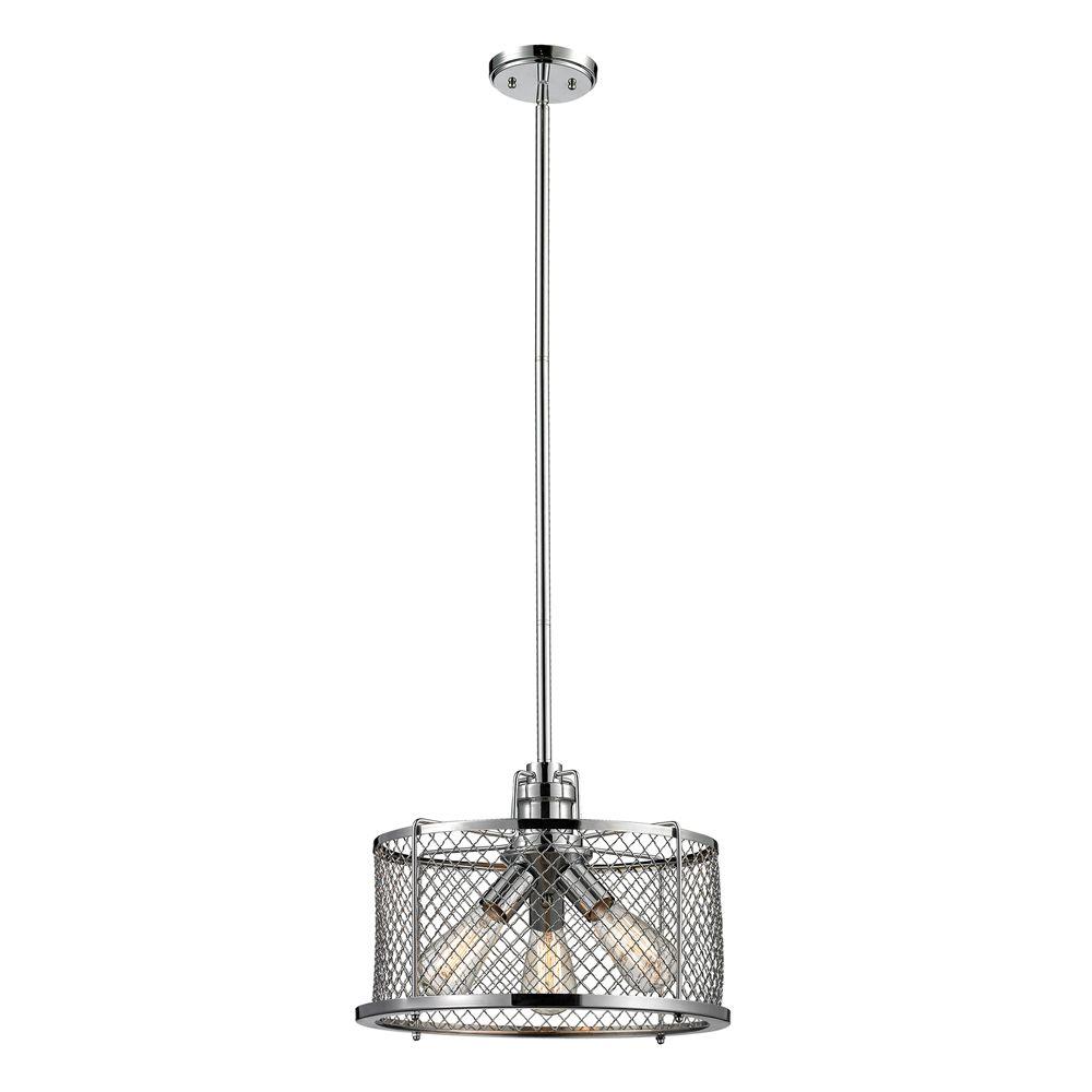 Titan lighting luminaire suspendu 3 ampoules brisbane au for Luminaire ampoule suspendu