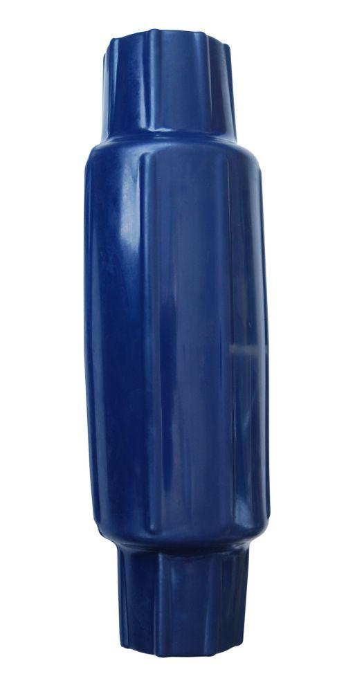 Torpedo Leg Pipe Bumper, Navy Blue