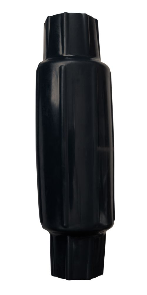 Butoir torpille pour poteau, noir