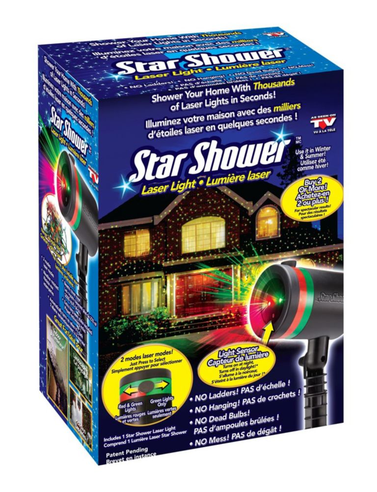 Star Shower Lumière Lazer