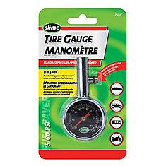 Manomètre à cadran — 5 à 60 lb/po2  de Slime ®