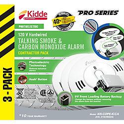 Kidde Combination Alarms - (3-Pack)