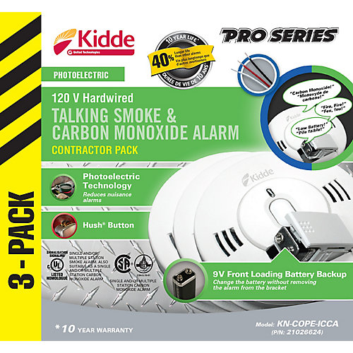 Combination Alarms - (3-Pack)