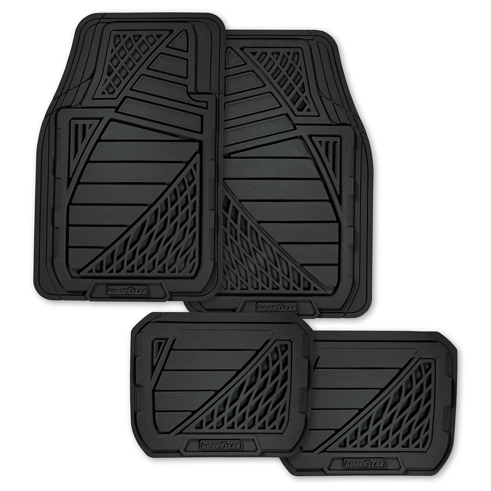p cars car floor duty rubber mt weather mats piece motor heavy dish trend gray gr deep for all