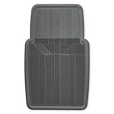 Kraco Premium 1 Piece Rubber Slush Mat - GRY