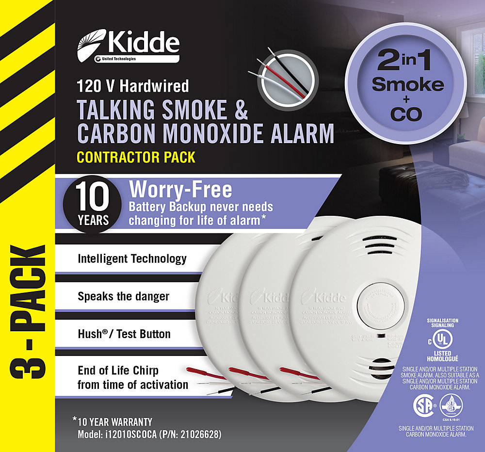 Worry Free Combination Alarms (3-Pack)
