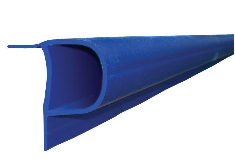 "Single ""P"" Profile, 32 feet/carton, Navy Blue"