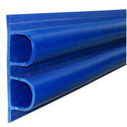 """Dock Edge Double """"D"""" Profile, 40 feet/carton, Navy Blue"""