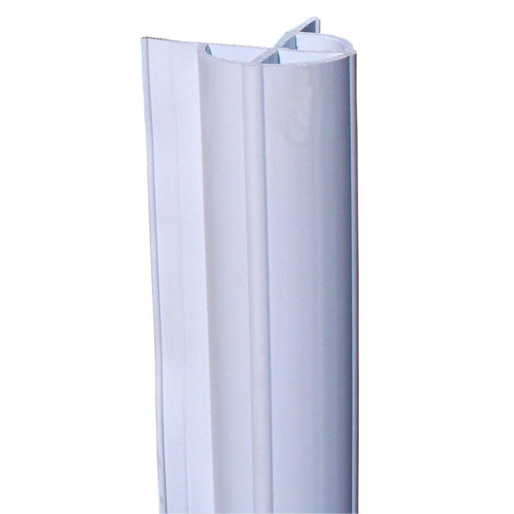 Corner Edge Profile, 48 feet/carton, White 1050-F Canada Discount